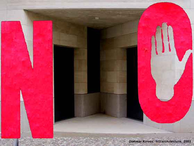 Dietmar Kirves: NO!architecture